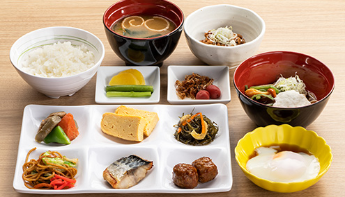A sample dish -Japanese-