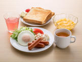 朝食(盛付例)/Breakfast(Western Set Meal )